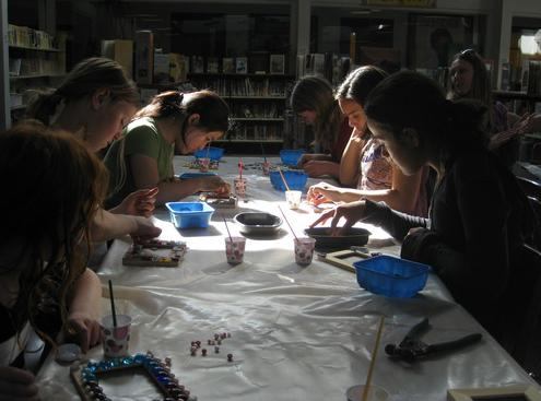 Girl Scout Mobile Mosaic Party!
